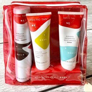 NIB: Mystic Tan Sunless Tan 3 Step Kit